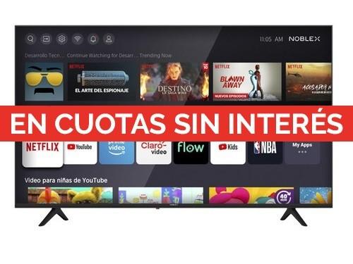 SMART TV NOBLEX 55 PULGADAS 4K UHD DK55X6500