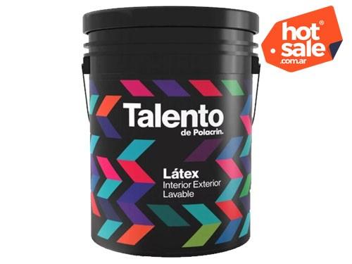 LATEX INTERIOR - EXTERIOR TALENTO x 20 Lts - 40% OFF