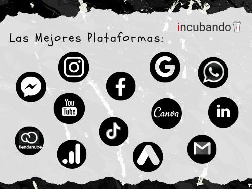 PACKx3 CURSOS: Marketing y Redes Sociales + Ecommerce + Emprendimiento
