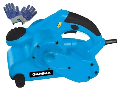 Lijadora Banda Electrica Gamma Manual 850w 76x533mm Guantes Gtia2 años
