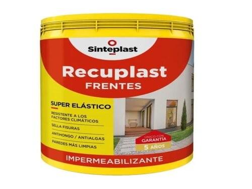 Recuplast Frentes Impermeabilizante X 4 Lts Blanco