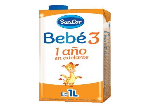 Leche Infantil Etapa 3 Líquida 1L x 24 unidades SanCor Bebé