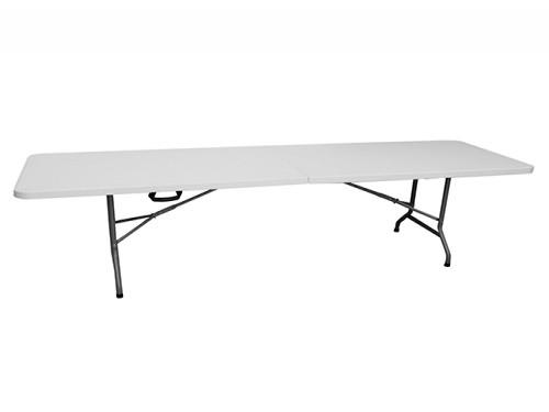 Mesa plegable para exterior 244 cm