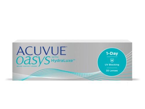 Lentes de contacto diarios Acuvue Oasys 1Day para miopía