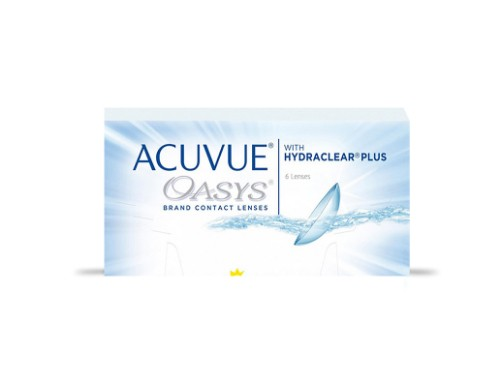 Lentes de contacto quincenales Acuvue Oasys para miopía