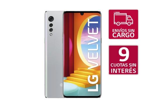 Smartphone LG Velvet Silver
