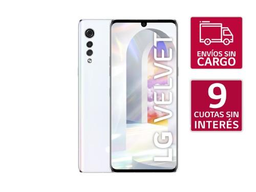 Smartphone LG Velvet White