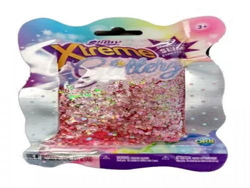 Slime Slimy Orb Con Brillo Xtreme Glitterz Colores Surtidos Wabro