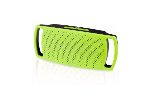 Parlante Bluetooth Portatil Verde Noblex