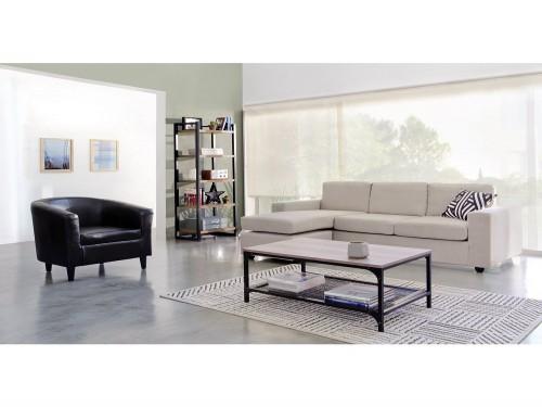 Sofa Esquinero Dion 205x145x85 Gris