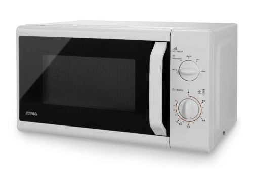 Microondas Atma Easy Cook Rotativo Blanco 700Watts 20 Litros