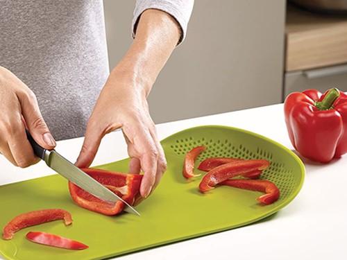 Tabla de Picar con Escurridor Para Carne o Verduras