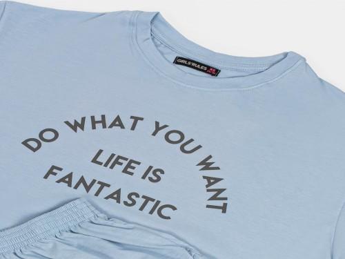 Pijama conjunto life is fantastic