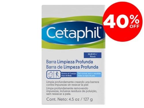 Barra De Limpieza Profunda Rostro Y Cuerpo Cetaphil x 127g