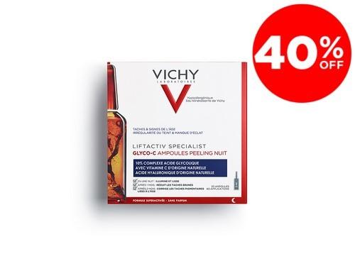Liftactiv Specialist Ampollas Glyco C Peeling Noche Vichy x 30 Un