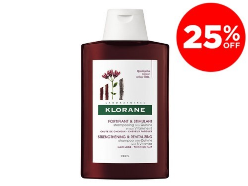 Shampoo Anticaida Con Quinina Y Vitamina B X 200 Ml De Klorane