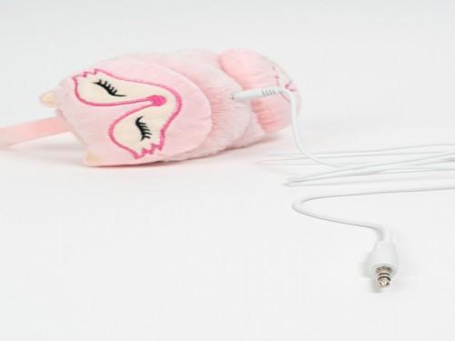 Orejeras con auriculares zorrito