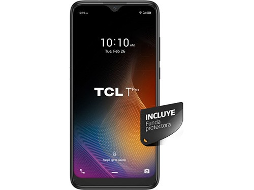 "Celular Libre T PRO Negro 6,2"" 128 GB TCL"