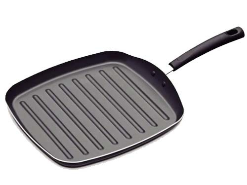 Bifera Grill Tramontina Teflon Antiadherente Plancha 24 Cm Cocina