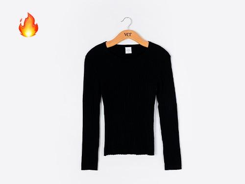 Sweater Básico Morley Negro