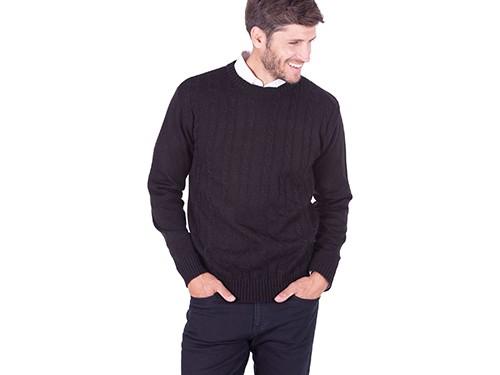 Sweater Cuello Redondo Fantasia Con Dibujo
