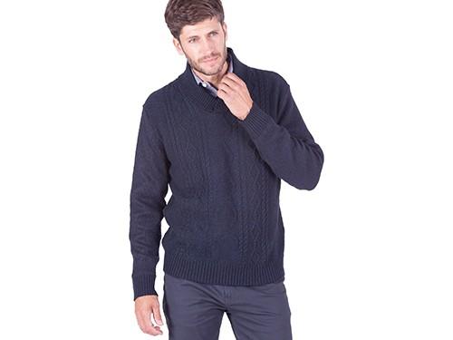 Sweater Smoking fantasía con aranes