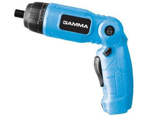 Atornillador Articulado Gamma Bateria Linterna Con 10 Puntas+ Regalos