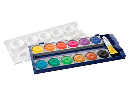 Acuarelas Pelikan K735 - 12 pastillas (origen Alemania)