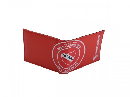 Billetera Independiente Roja