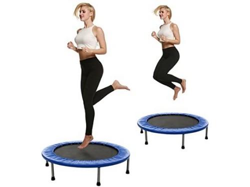 Mini Tramp Cama Elastica Minitramp Salto 1 Mts Gym Gimnasia