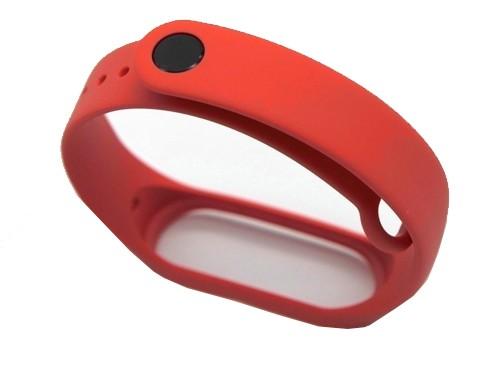 Malla Mi Band Strap Xiaomi 3/4 Pulsera Rojo Goma Lavable Carcasa