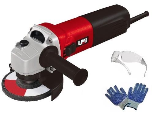 Amoladora Angular Umi 850w 115mm Industrial C/garantia Y Accesorios