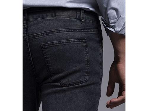 Jean Gastado Gris Slim Fit