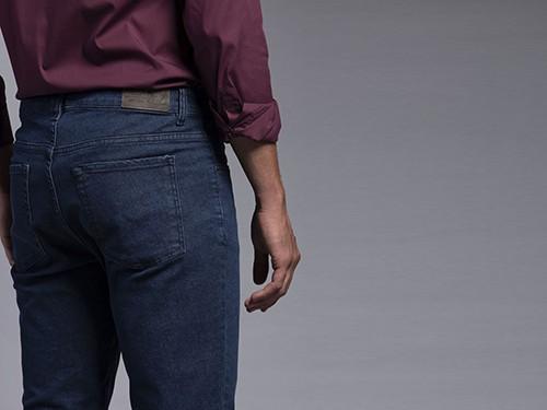 Jean Azul Estático Slim Fit