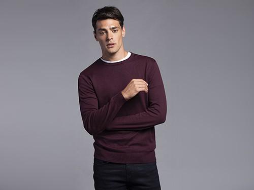 Sweater Regular Fit Liso