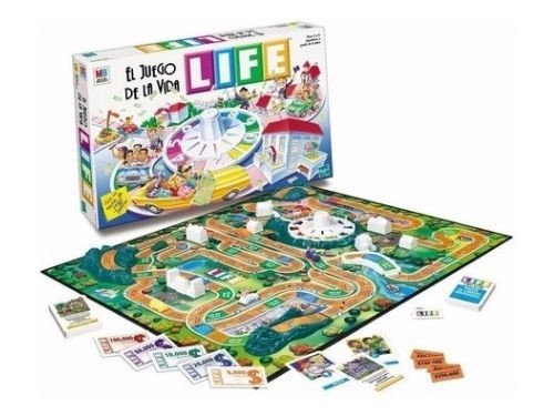 Juego de Mesa El Juego De La Vida Life Clasico Hasbro