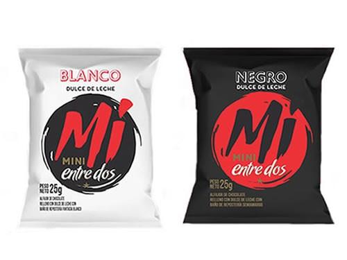 3x2 Mini Alfajor Blanco / Negro