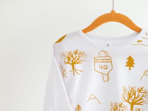 Pijama Arrayanes Invierno Niños Niñas Unisex 100% Algodón Ecológico