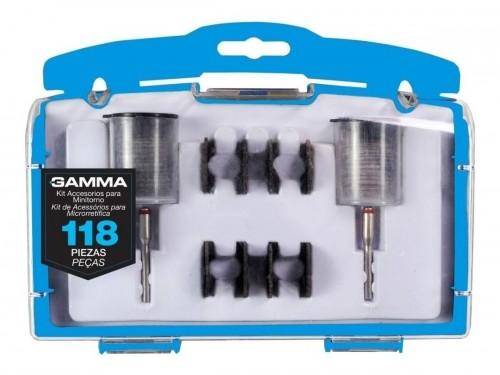 Set Kit Accesorio Gamma Mini Torno 118 Piezas Juego Estuche
