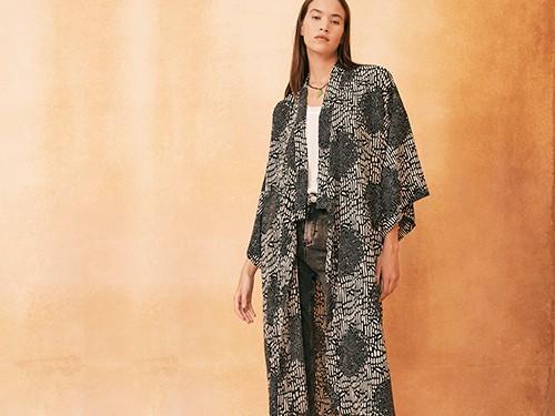 Kimono Oriental Mika Rapsodia