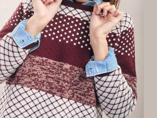 Sweater bariloche hilo Kevingston