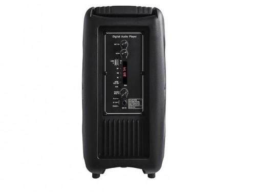 "Parlante Portatil 8"" Bluetooth Karaoke Radio Microfono Led Winco W238"