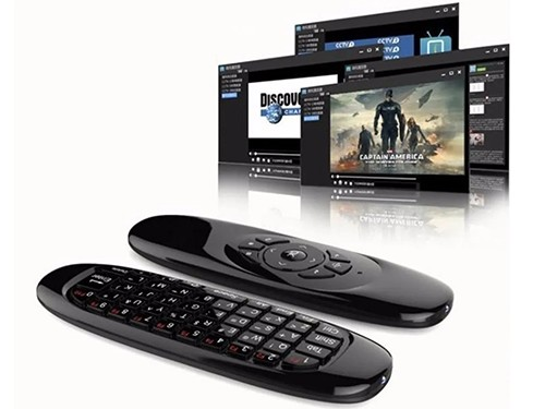 Mini Teclado Inalámbrico Air Mouse Control Remoto Smart Pc