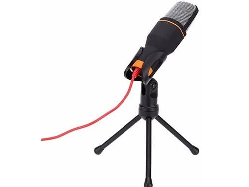 Microfono Gamer Pc Manos Libres Youtube Cable Pie Tripode