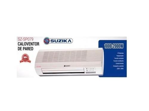 Caloventor Split Estufa Pared Calefactor Bajo Consumo 2000w Suzika 079