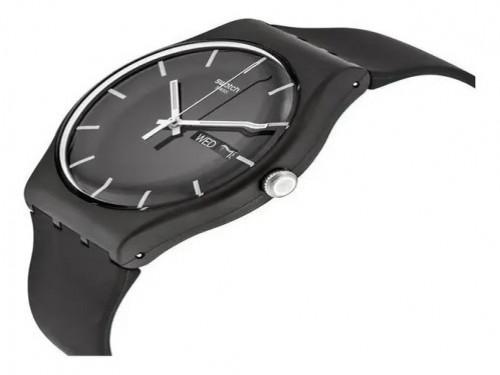 Reloj Swatch Mono Black SUOB720 3 Atm Original Silicona
