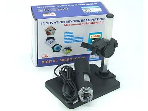 Microscopio Digital Usb 1000x 50x Hd Luces Led Video Foto
