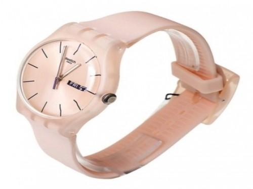 Reloj Swatch Rose Rebel SUOT700 3 Atm Original Silicona
