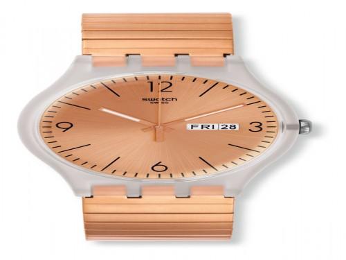 Reloj Swatch Rostfrei SUOK707 3 Atm Original Inoxidable