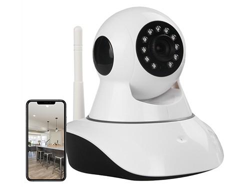 Camara Ip Wifi Interior Seguridad Seguimiento De Movimiento